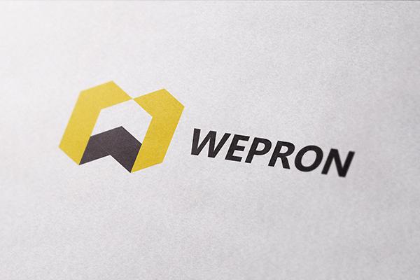 Wepron-CloseUp-Textured-Paper-Logo-MockUp
